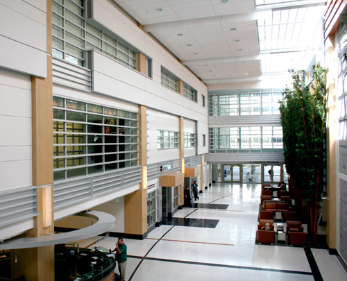 Daylighting And Decorative Design With Fire Rated Glass At