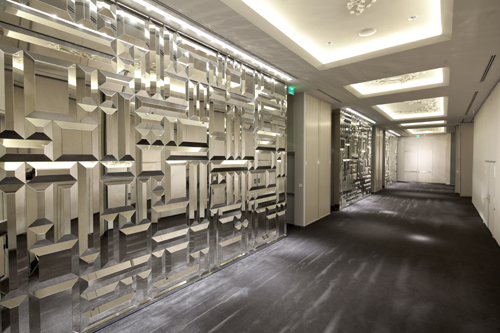 Most Innovative Decorative Glass Project Commercial Interior Glass Magazine