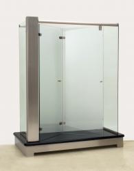Bi-fold shower door hinge | Glass Magazine