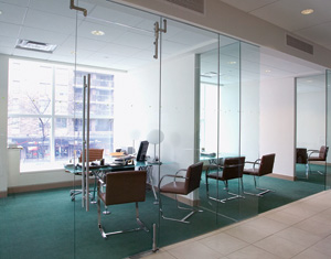 Interior Office Front System Glass Magazine