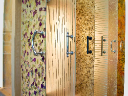 Ensoglass shower doors from bella fleur glass magazine bella fleur corp recently introduced ensoglass shower doors built using solid core technology ensoglass is a non laminated safety glass composite planetlyrics Image collections