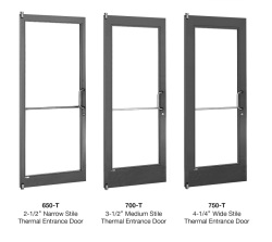 U.S. Aluminum Thermally Broken Entrance Doors  sc 1 st  Glass Magazine & U.S. Aluminum Thermally Broken Entrance Doors   Glass Magazine
