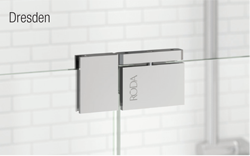 Shower door hinge from basco glass magazine basco manufacturing introduced a new glass to glass pivot hinge and wall mount pivot hinge as a part of its roda lines celesta and dresden series planetlyrics Images