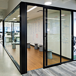 487 Series Demountable Office Partition System With