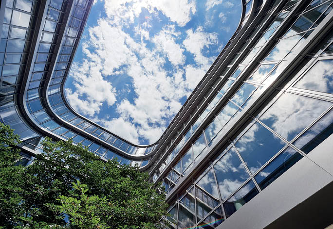 Siemens corporate headquarters in Munich