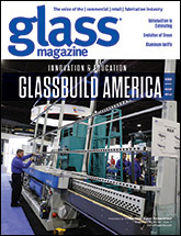 Glass Magazine August 2018 cover