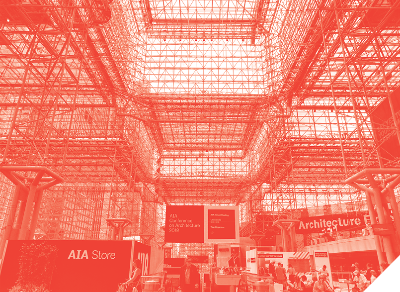 Expo entrance AIA conference