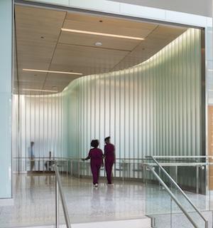 Great Glazing: New York Presbyterian Hospital, Morgan Stanley Adult