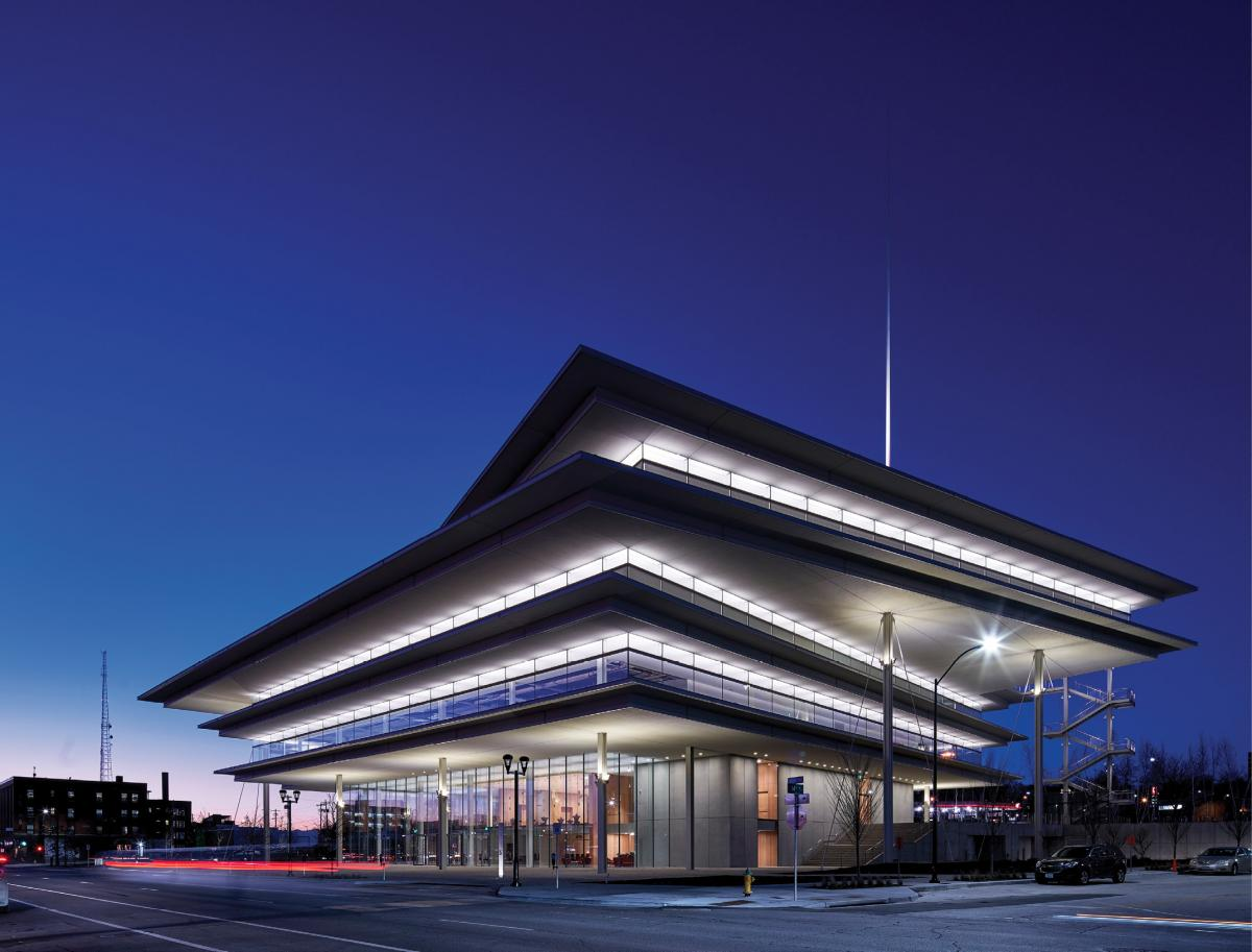 Architectural Wall Systems - Krause Gateway Center - Des Moines, Iowa