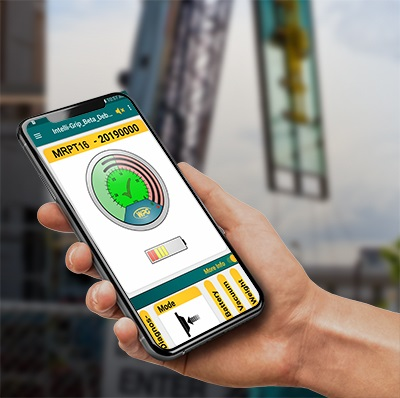 Cell phone with WPG lifting app
