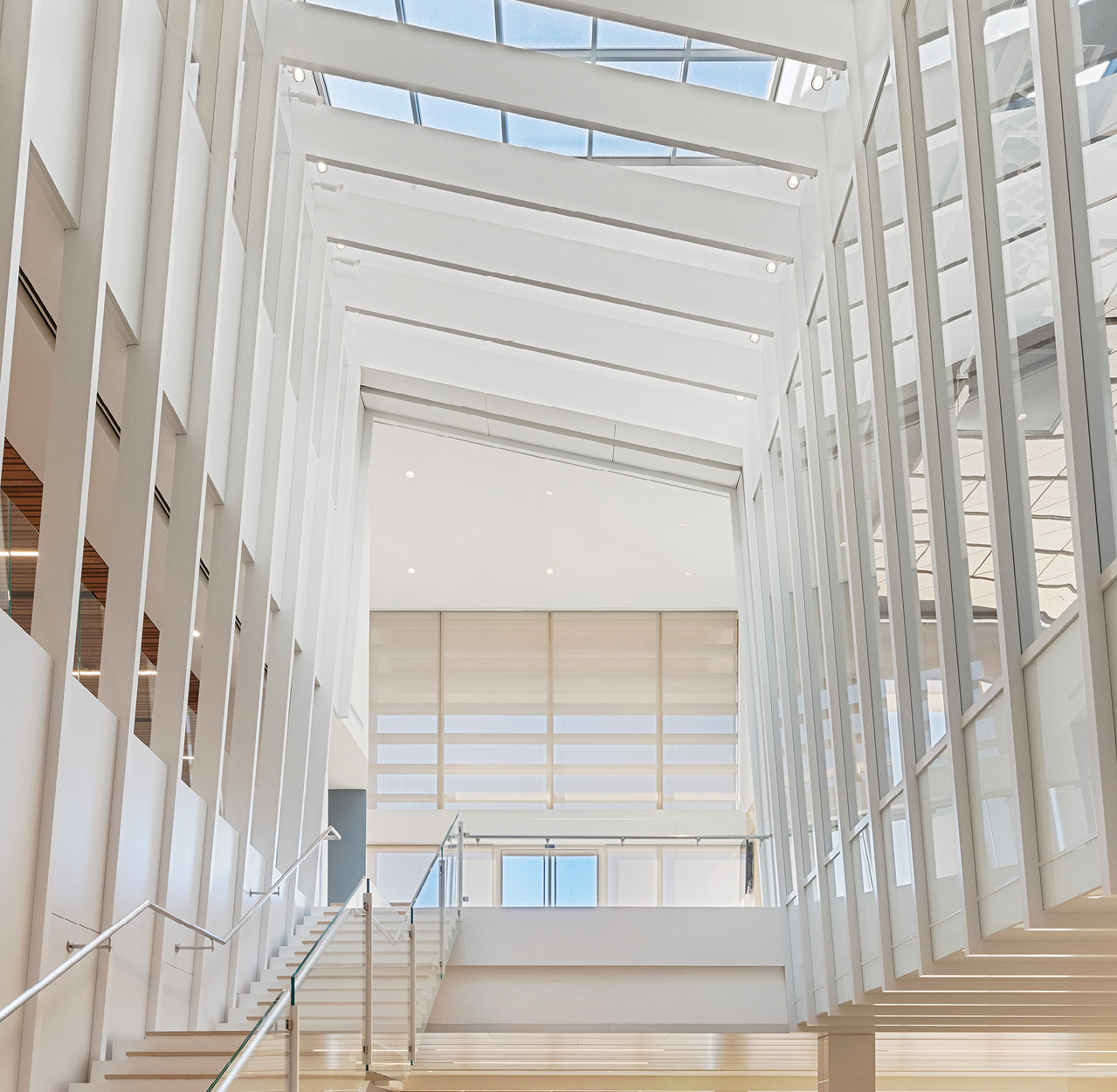 UCLA's Marion Anderson Hall, Westwood, California by Giroux Glass