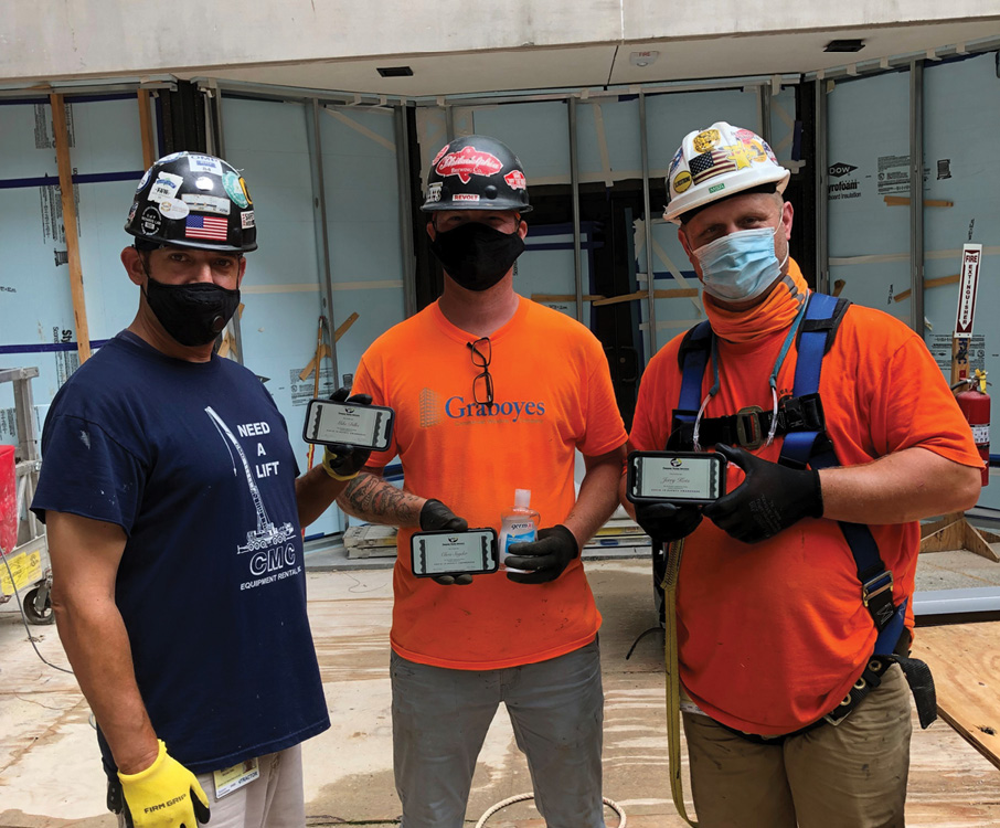 District Council 21/Glaziers Local 252 worked with the Finishing Trades Institute of the Mid-Atlantic Region's Health and Safety department to create a new training program