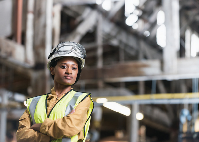 Recruiting women workers in glazing