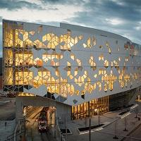 Award-Winning Library Features Striking Facade