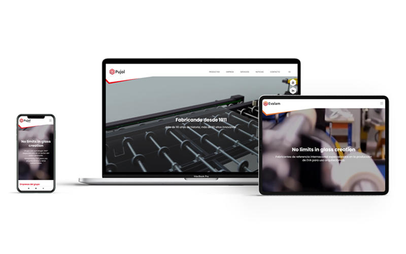 Pujol Group Launches a New Corporate Site, Renews the Sites of Group Companies
