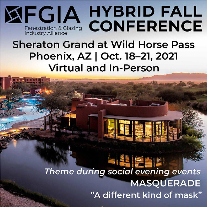 Registration Now Open for FGIA 2021 Hybrid Fall Conference, with In-Person, Virtual Options