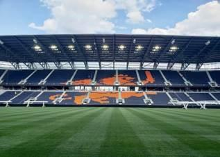 Trex Commercial Products Equips New Stadium, Inside and Out