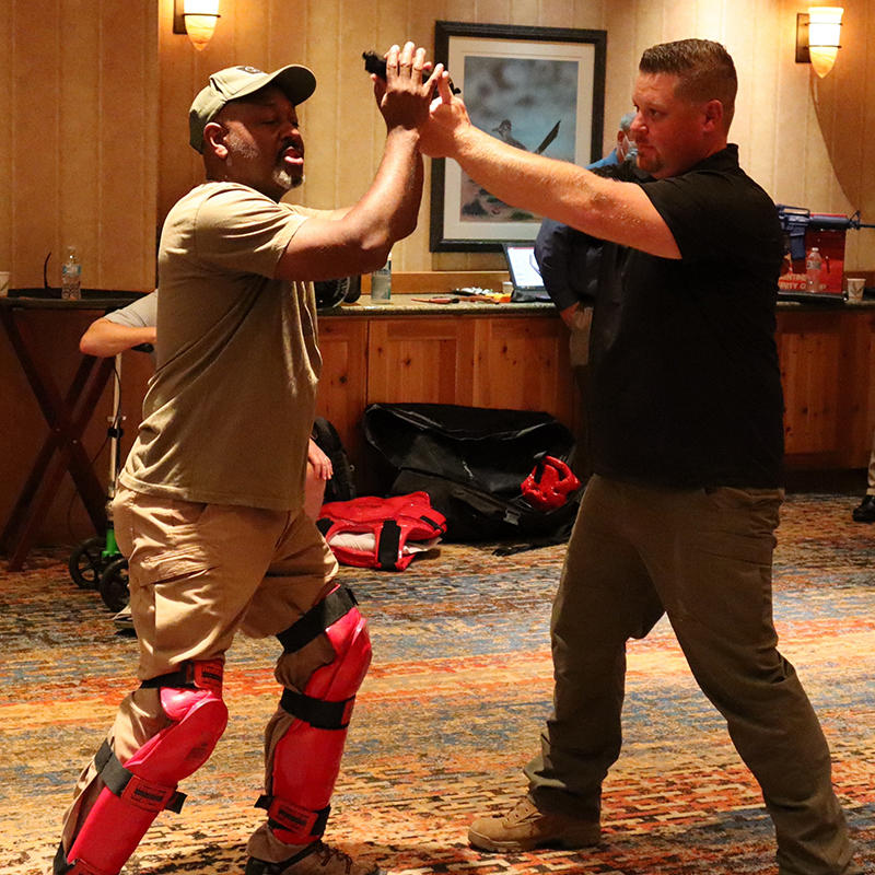 Safety Demonstration Offers Active Shooter Training at FGIA Hybrid Fall Conference