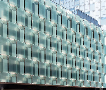 Bendheim's ventilated glass facades