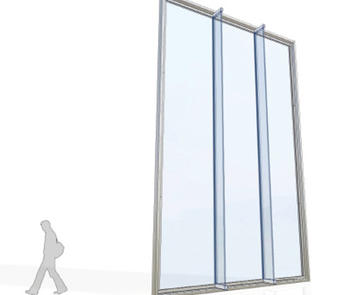 Sentech Architectural Systems impact-resistant structural glass system